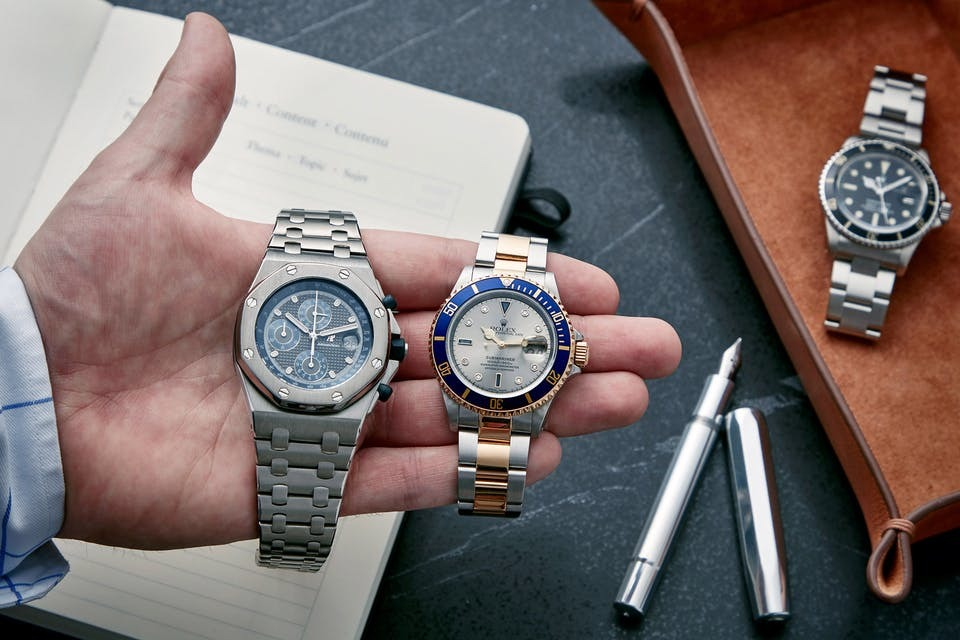 investir montres collection